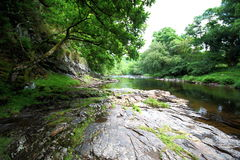 River Dart , Dartmoor National Park, Devon, Uk stock image