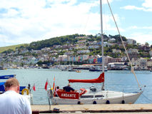 River Dart and  Kingswear, Devon. Royalty Free Stock Photography