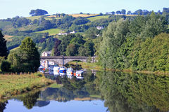 River Dart, Totnes Royalty Free Stock Images