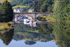 River Dart, Totnes Stock Photography