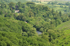 River Dart valley Royalty Free Stock Photography