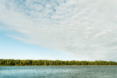 River Daugava. Royalty Free Stock Photos