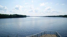 Daugava. River Daugava stock image