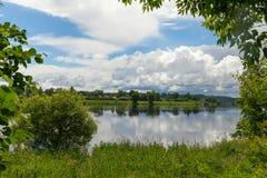 River Daugava, Latvia. Royalty Free Stock Photos