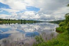 River Daugava, Latvia. Royalty Free Stock Images