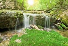 River at dawn Royalty Free Stock Images