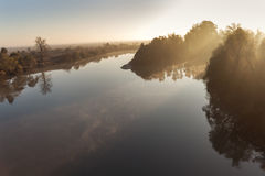 River at dawn Royalty Free Stock Images
