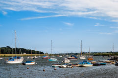 River Deben in Woodbridge, England, UK Stock Photography