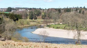 River of Dee, Aberdeen Scotland Royalty Free Stock Photo