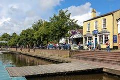 River Dee Quayside. Chester. England Stock Photos
