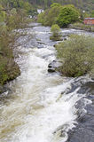 River Dee rapids Royalty Free Stock Photo