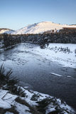 River Dee In Winter. Stock Image