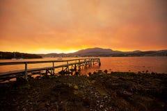 River Derwent Hobart Stock Images