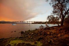 River Derwent Hobart royalty free stock images