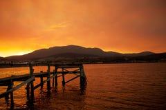 River Derwent Hobart Stock Image