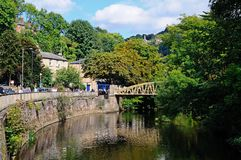 River Derwent, Matlock Bath. Stock Images
