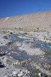 River in the Desert Royalty Free Stock Image