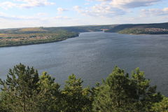 River Dniester Royalty Free Stock Photography