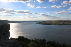 River Dniester Royalty Free Stock Photos