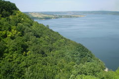 River Dniester Stock Photography