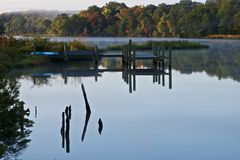 River Dock Royalty Free Stock Image