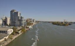 River Don in Rostov-on-Don Stock Photo