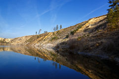 River Don in Russia. Stock Images
