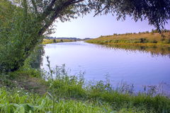 River Don. River Don in the Tula region, the area of Kulikov field Royalty Free Stock Photos