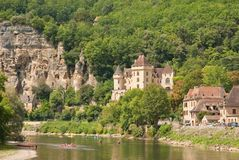 River Dordogne, France Stock Photos