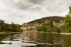 River Dordogne near La Roque Gageac Stock Photo