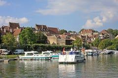 River Doubs, Dole Royalty Free Stock Photos