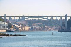 River Douro and the city of Porto Royalty Free Stock Photography