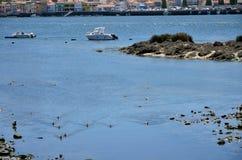 River Douro and the city of Porto Stock Image
