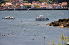 River Douro and the city of Porto Royalty Free Stock Image