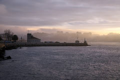River Douro dawn Royalty Free Stock Photo