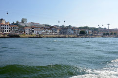 River Douro and historic buildings Royalty Free Stock Images