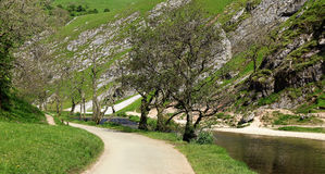 The river Dove in the Peak District Royalty Free Stock Photography