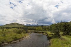 River in Drakensberg Stock Image