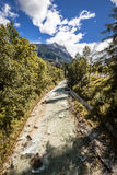 River of dreams. At Cortina Royalty Free Stock Photo