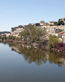 River Duero of Zamora Royalty Free Stock Photo