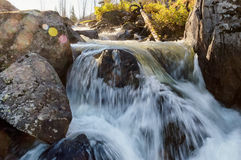 River in East Kazakhstan mountains Royalty Free Stock Photo