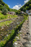 River East Lin in Lynmouth Royalty Free Stock Photography