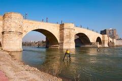 River Ebro Stock Photo