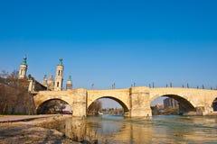 River Ebro Royalty Free Stock Photography