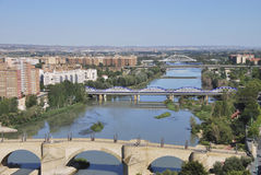 River Ebro Stock Image