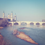 River Ebro Stock Images