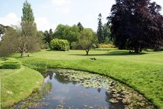 River Eden in Hever, Edenbridge, Kent, England, Europe Royalty Free Stock Photos