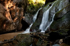 River Eifonso waterfall, in Vigo, Spain Stock Photography