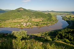 River Elbe, Czech republic Stock Photography