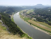 River Elbe Royalty Free Stock Photography